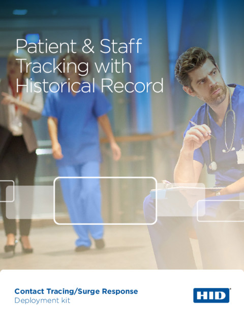 Patient & Staff Tracking with Historical Record Brochure
