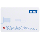 iCLASS SE 38xx SIO-Enabled MIFARE DESFire EV1 + Proximity Smart Card